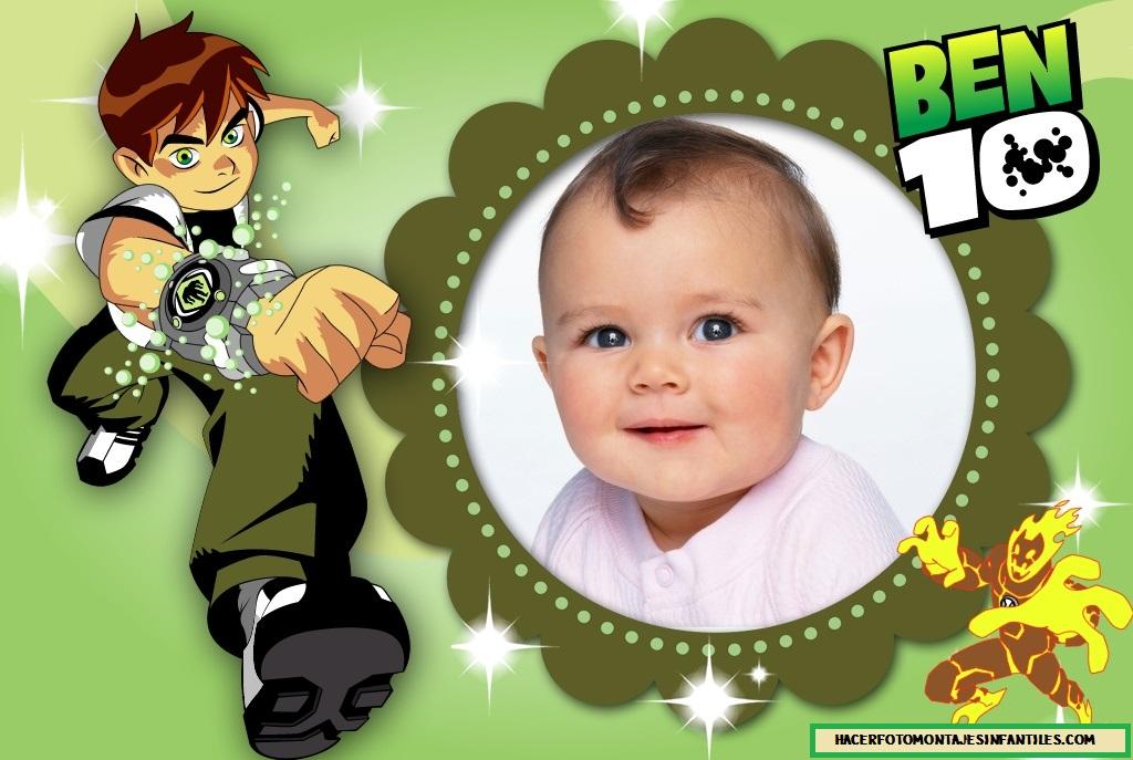 Fotomontaje para niños con Ben 10 | Fotomontajes infantiles