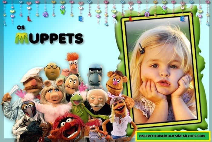 fotomontaje de Muppets gratis