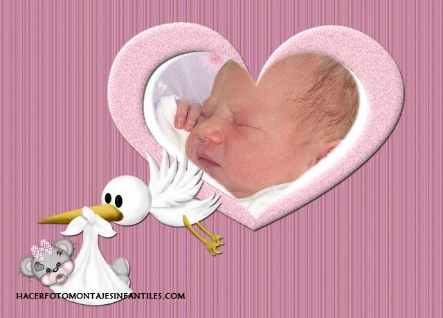 Fotomontajes de nacimiento