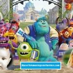 Fotomontaje de Monsters University para dos fotos