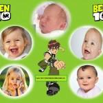 Fotomontaje de Ben 10 para 5 fotos