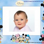 Divertido fotomontaje de Disney Baby