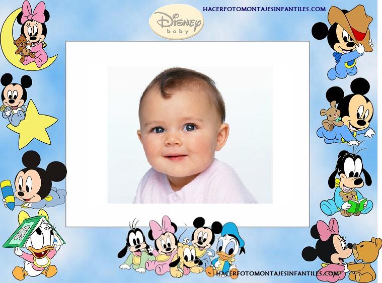 Marcos para fotos con dibujos de Disney Mickey - Imagui
