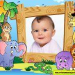Fotomontaje de Safari para niños
