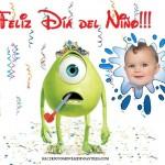 Fotomontaje para el Día del Niño