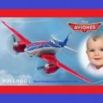 Fotomontaje de Bulldog de Aviones Cars