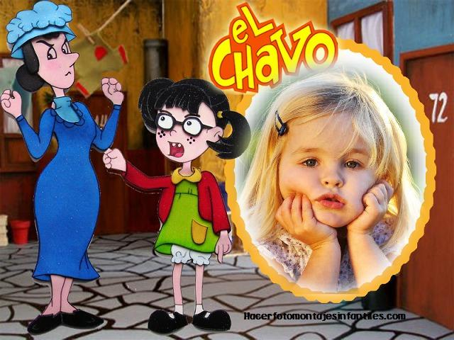 Invitaciónes Del Chavo Y La Chilindrina Para Editar Imagui