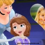 Fotomontaje de Princesa Sofía y Cenicienta