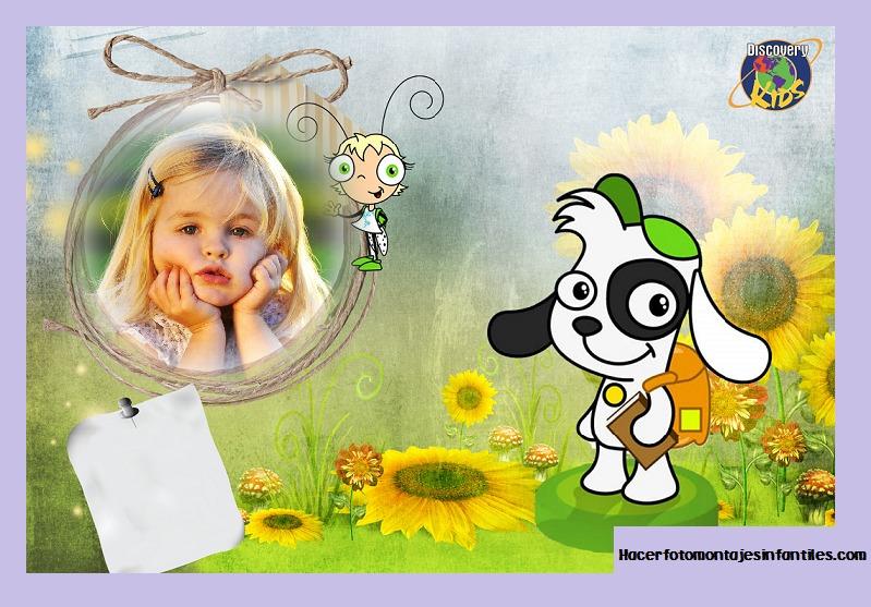 Fotomontaje de Doki gratis   Fotomontajes infantiles