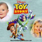 Fotomontaje de Toy Story para dos fotos