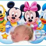 Fotomontaje de Disney Baby