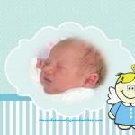 Fotomontaje de angelito para niños