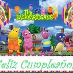 Fotomontaje de Cumpleaños con los Backyardigans