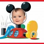 Fotomontaje de la Casa de Mickey Mouse