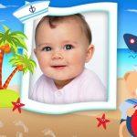Fotomontaje para bebés de marinerito