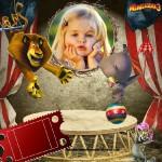 Fotomontaje de Madagascar con Alex y Gloria