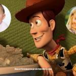 Fotomontaje de Woody para colocar dos fotos