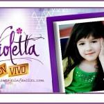 Fotomontaje de Diario de Violetta