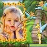Fotomontaje infantil con Tinkerbell