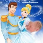 Fotomontaje de Cinderella y el Principe
