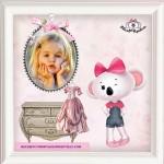 Fotomontaje de ratoncita para niñas