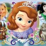 Fotomontaje de Princesa Sofía para dos fotos