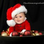 Divertido fotomontaje disfraz de Papá Noel