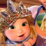 Fotomontaje de Rapunzel Bebé