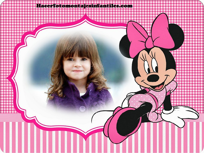 Fotomontajes de Minnie y Mickey | Fotomontajes infantiles - Part 2