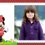 Bonito fotomontaje de Minnie