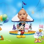 Fotomontaje de Mickey y sus amigos