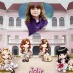 Fotomontaje con muñequitas Jolie