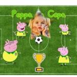 Fotomontaje de Peppa Pig Mundial 2014