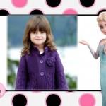 Fotomontaje de Elsa y Anna Frozen para crear gratis