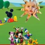 Fotomontaje de Club House Mickey Mouse