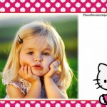 Fotomontaje gratis de Hello Kitty