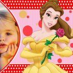 Fotomontaje de Princesa Bella