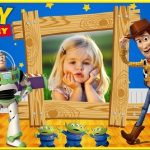 Fotomontaje infantil de Toy Story