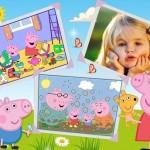 Fotomontaje de Cumpleaños con Peppa Pig