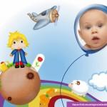 """Fotomontaje de """"El Principito"""" para bebes y niños"""