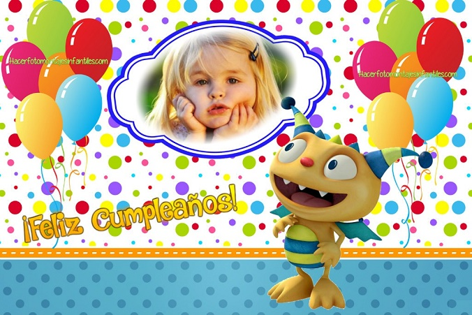 Fotomontajes de Cumpleaños infantiles | Fotomontajes infantiles
