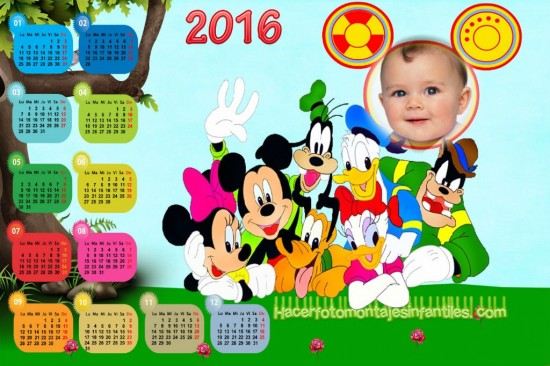 Almanaques Infantiles 2016 - Calendarios 2016