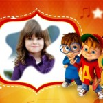 Fotomontaje de Alvin y las Ardillas