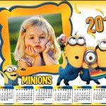 Fotomontaje Calendario 2016 de Minions