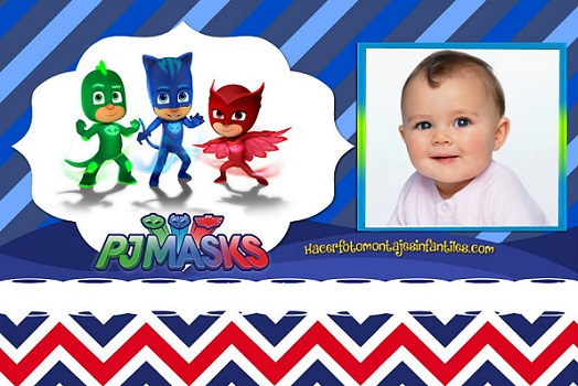 fotomontaje-de-pjmasks-editar-fotos-de-heroes-en-pijamas-marcos-de-pjmasks-marcos-de-heroes-en-pijamas - Cuadros de Heroes en Pijamas - Ou