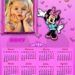 Fotomontaje Calendario 2017 Minnie
