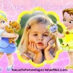 Fotomontaje de Princesas Baby