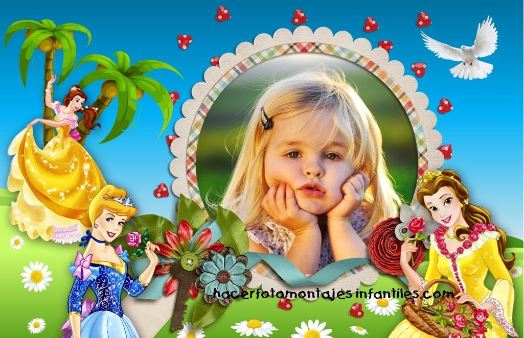 Fotomontajes para nenas | Fotomontajes infantiles - Part 75