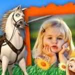 Fotomontaje de Enredados con Rapunzel y Flynn
