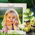 Fotomontaje de Shrek